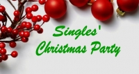 CHRISTMAS SINGLES PARTY. AGES 30-50.